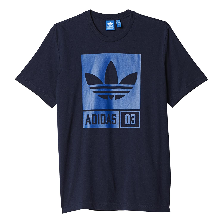 adidas Herren T-Shirt STR GRP Tee, Blau/Grau, S, 4056559648657: Amazon.de:  Sport & Freizeit