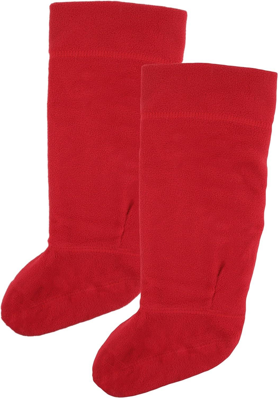 RJM Girls Fleece Wellie Wellington Boot Socks Liners