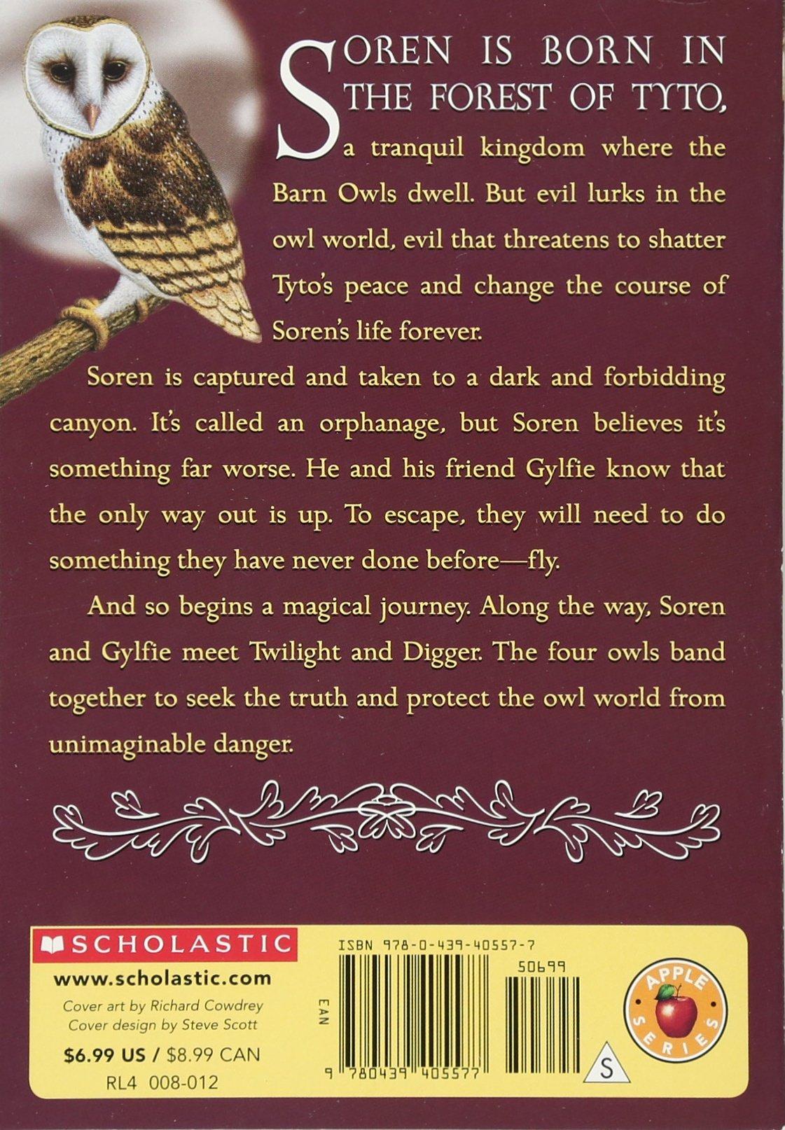 The Capture (guardians Of Ga'hoole, Book 1): Kathryn Lasky: 9780439405577:  Amazon: Books