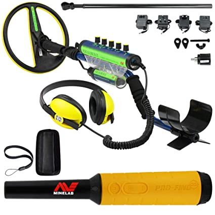 Amazon.com : Minelab Excalibur II 1000 Waterproof Detector Bundle Pro Find 35 : Garden & Outdoor