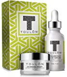 Anti Aging Skin Care Kits: Beauty Gifts: Hyaluronic Acid Serum for Face & Eye Cream for Dark Circles & Puffiness. Great Gift Set Kit
