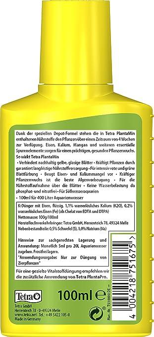 Tetra PlantaMin - Fertilizante universal: Amazon.es: Productos para mascotas