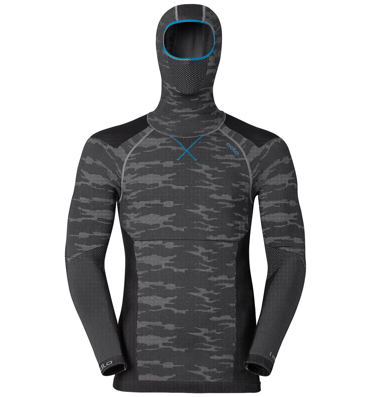 Maglietta a Manica Lunga con Cappuccio Uomo Odlo Blackcomb Evolution Warm