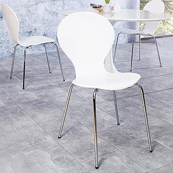 Klassiker Design Retro Cagü StuhljacobsenWeißAmazon Lounge Fc1JKluT3