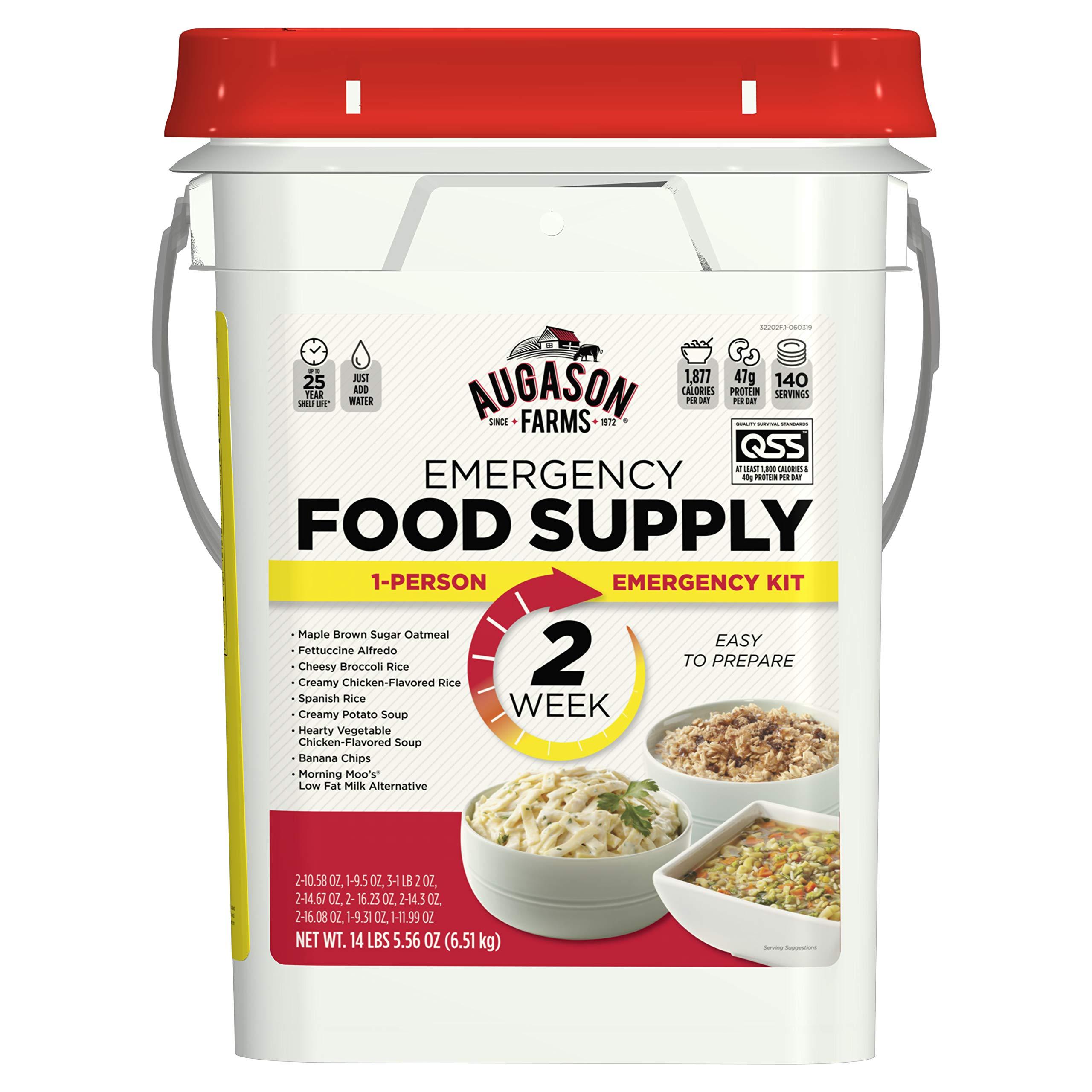 Augason Farms 2-Week 1-Person Emergency Food Supply Kit 14 lbs 5 oz by Augason Farms