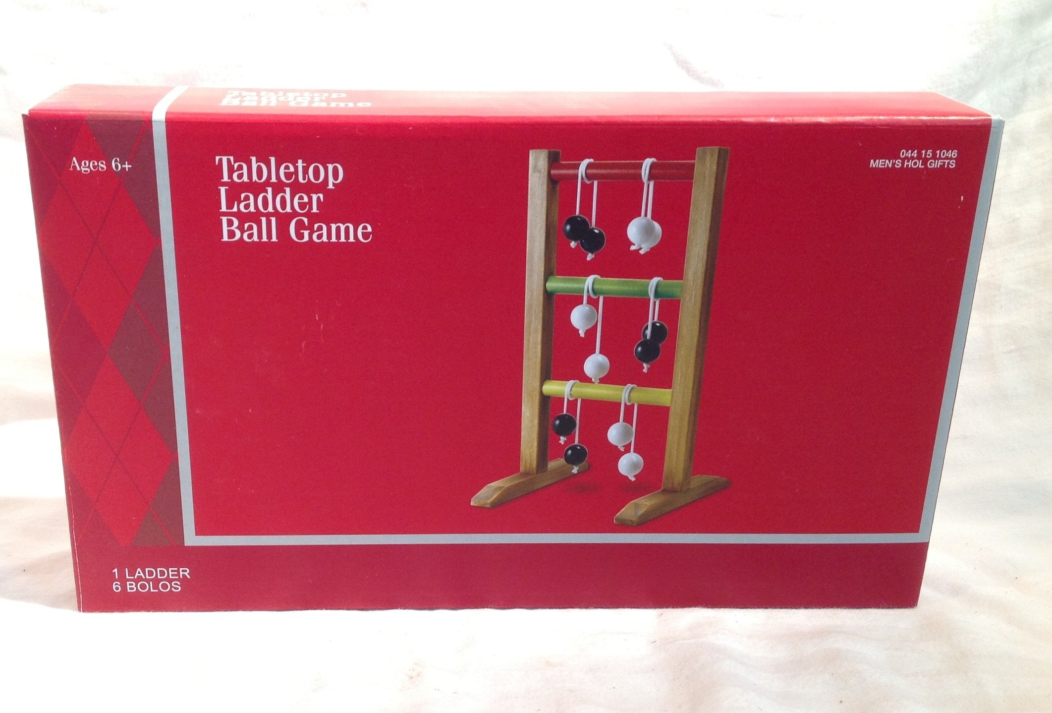 Table Top Ladder Ball Game