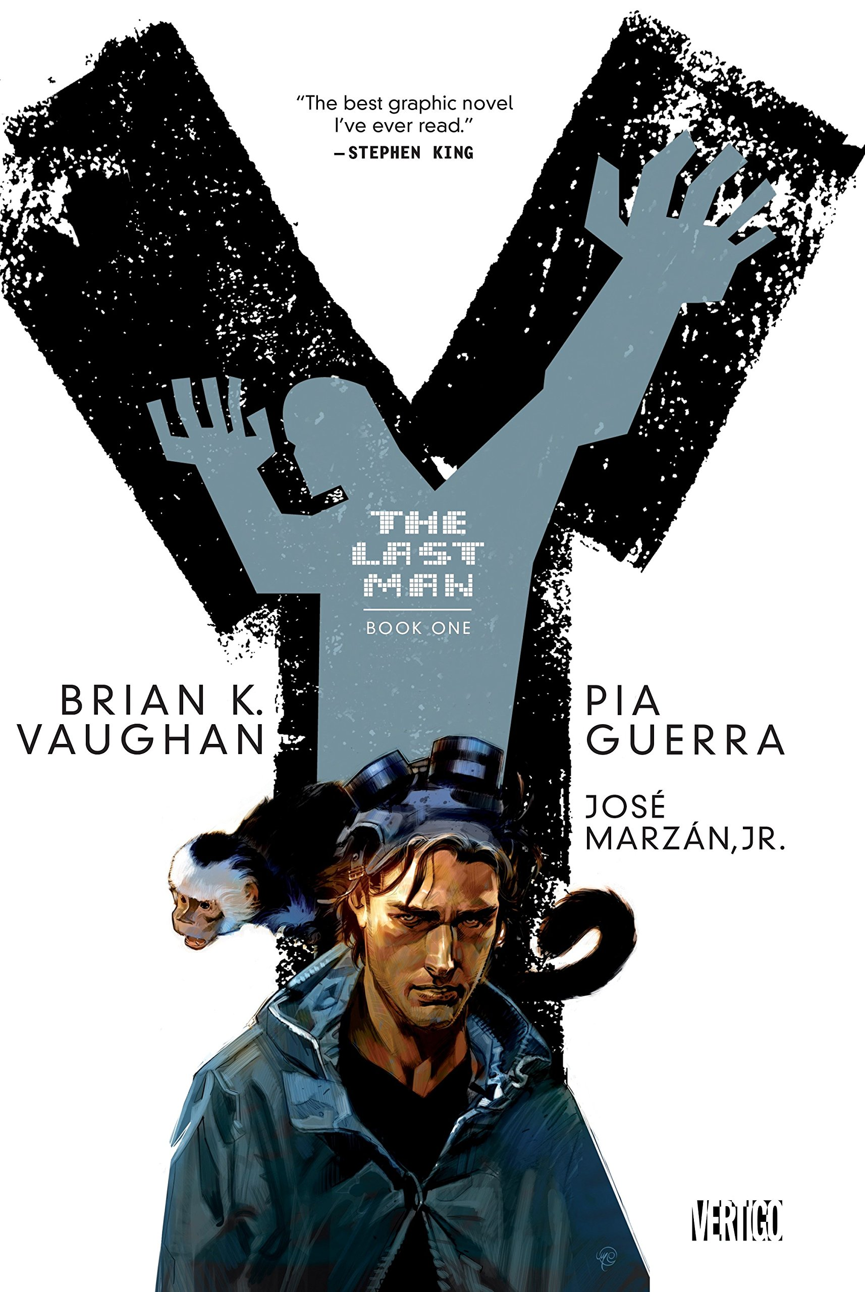 """Y: The Last Man"" Cover"