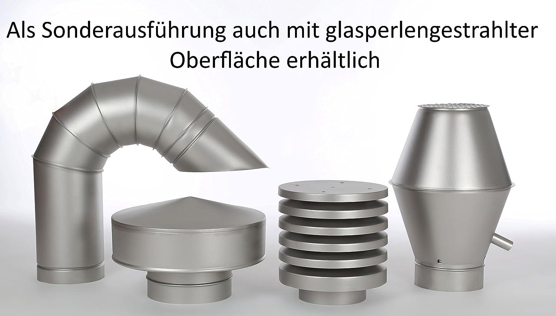 Intelmann Edelstahl Deflektorhaube /Ø 100 Fortlufthaube