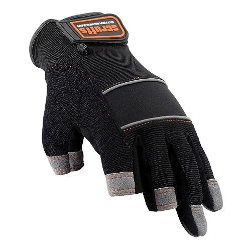 Scruffs Max Performance Safety Gloves Precision 3 Finger Tip Gloves