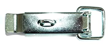 verzinkt 25 St/ück L 110 mm L/ÜSEBRINK 083ZD10525.00 Kistenverschluss absperrbar Breite 23 mm