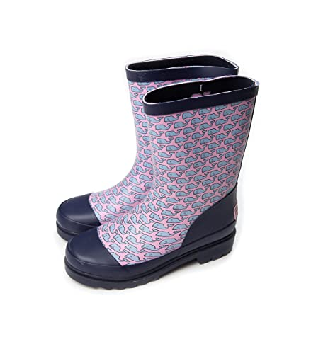 Amazon.com | Vineyard Vines Rain Boots Girls Printed Whale ...
