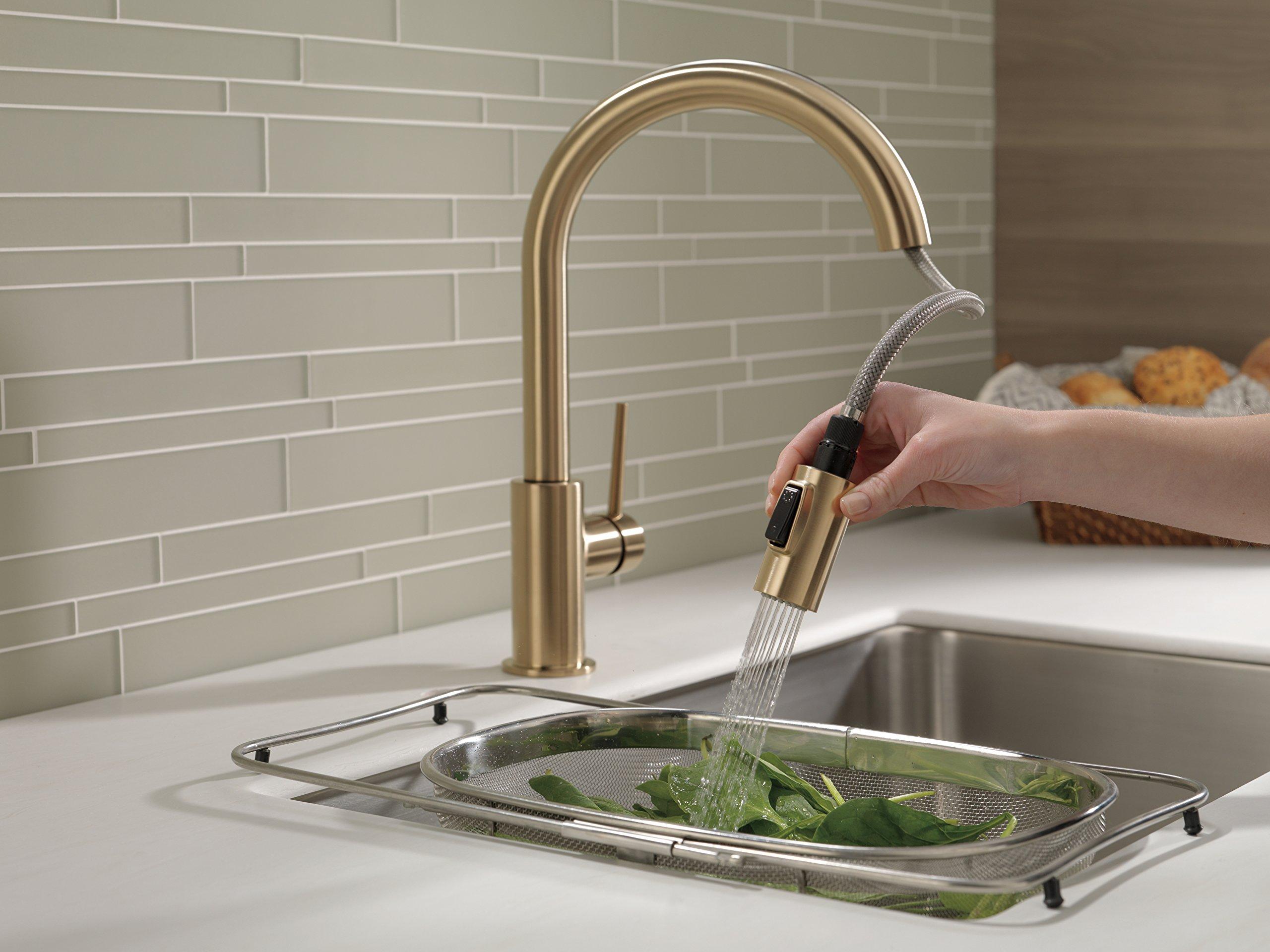 Delta Faucet 9159 CZ DST Trinsic Single Handle Pull Down Kitchen