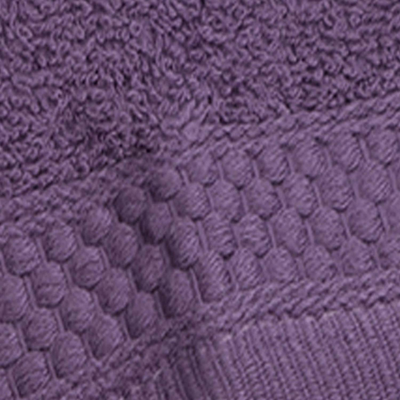 Deep Plum 353624330 Baltic Linen Multi Count 100-Percent Cotton Complete 24-Piece Towel Set