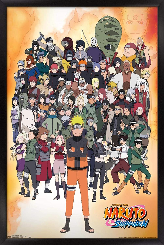 Jump Multi Trends International Naruto Shippuden 14.725 x 22.375