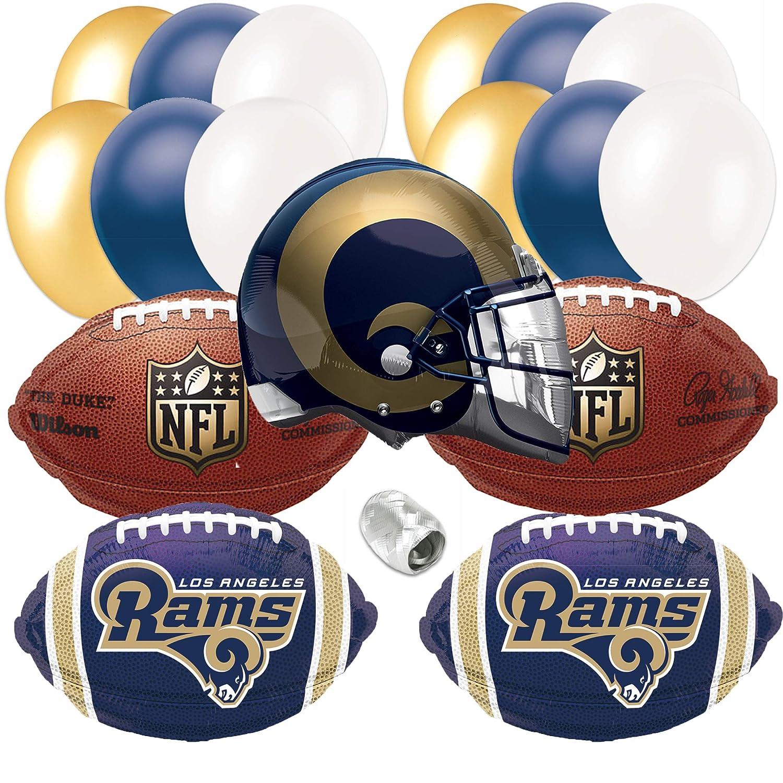 Amazon.com: Los Angeles Rams Casco Playoffs fiesta de fútbol ...