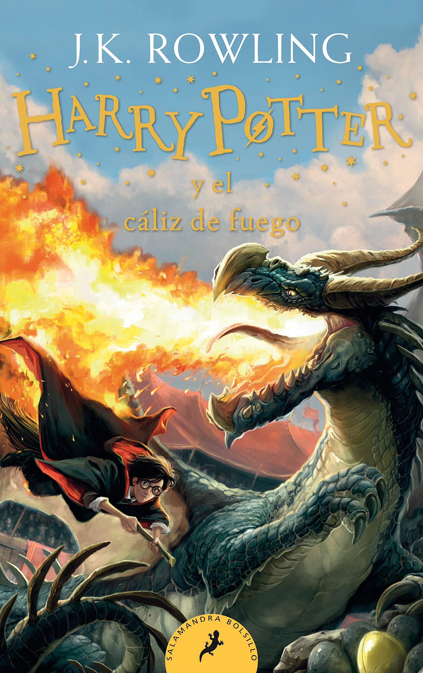 Harry Potter y el cáliz de fuego (Harry Potter 4): Amazon.es ...