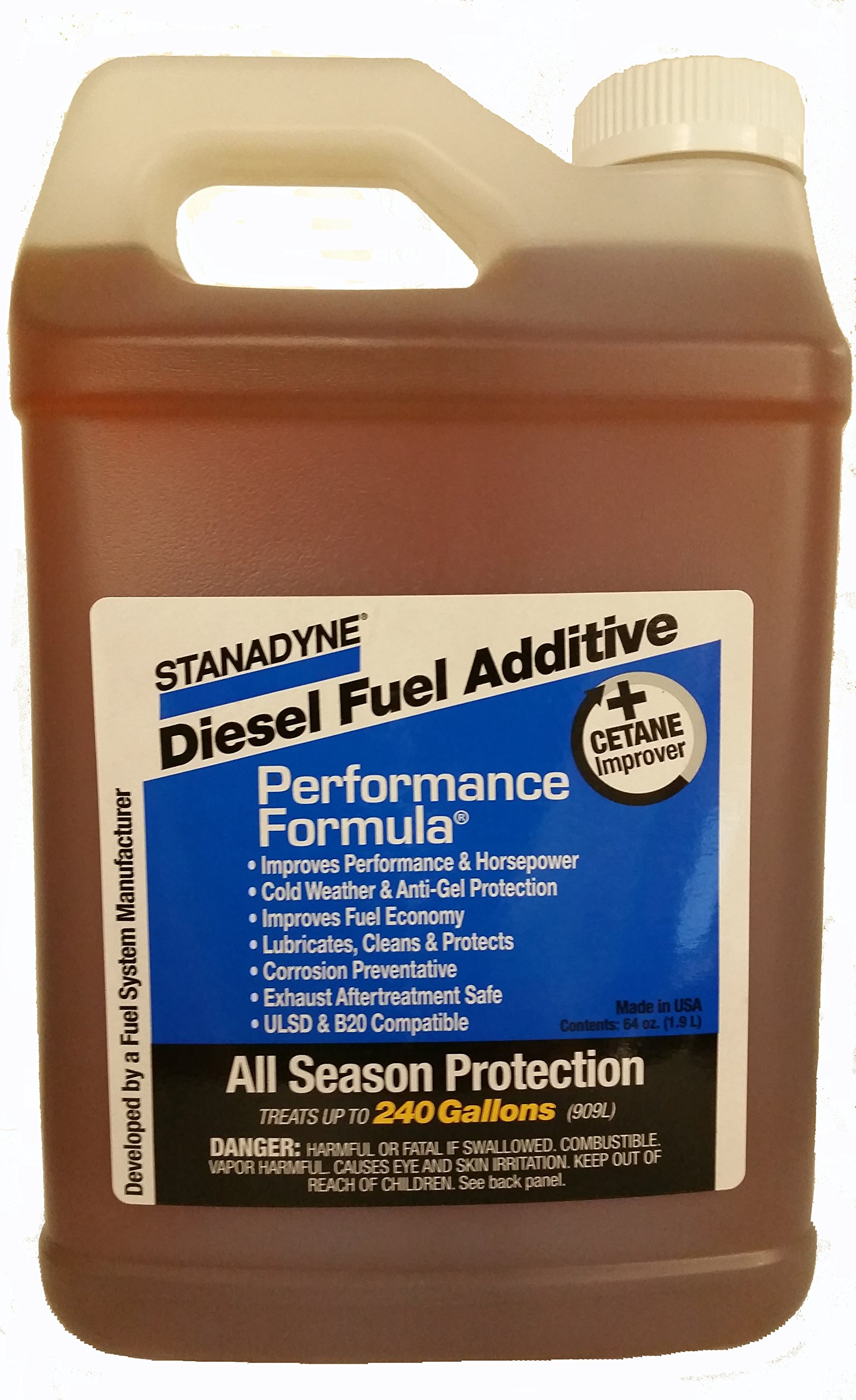 Stanadyne Performance Formula Diesel Fuel Additive - 64 ounce, Case of 6 Jugs by Stanadyne