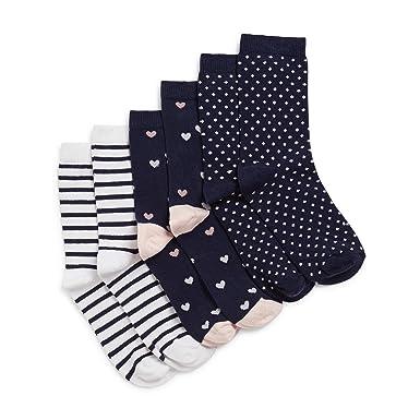 5010509adbe MONOPRIX KIDS - Lot de 3 paires de Chaussettes - Fille - Taille   27 ...