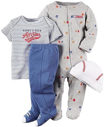 5eab11303 Amazon.com  Carter s Baby Boys Layette Set (Baby)  Clothing