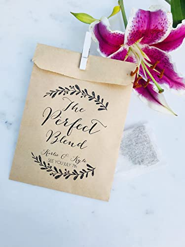 Amazon Com 25 Pack Wedding Favor Bags The Perfect Blend