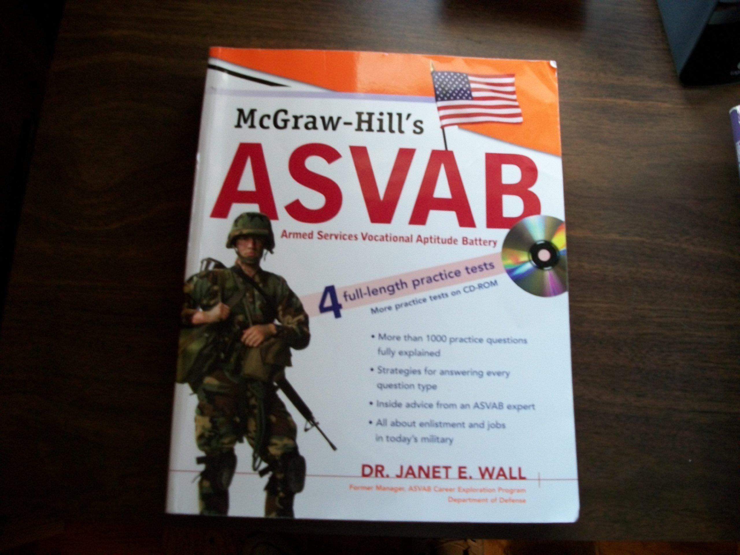 McGraw-Hill's ASVAB 4 Full-Length Practice Tests