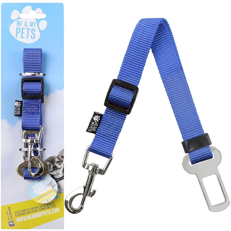 Me /& My Pets Autositzgurt Haustier Blau Sitzgurt-Adapter