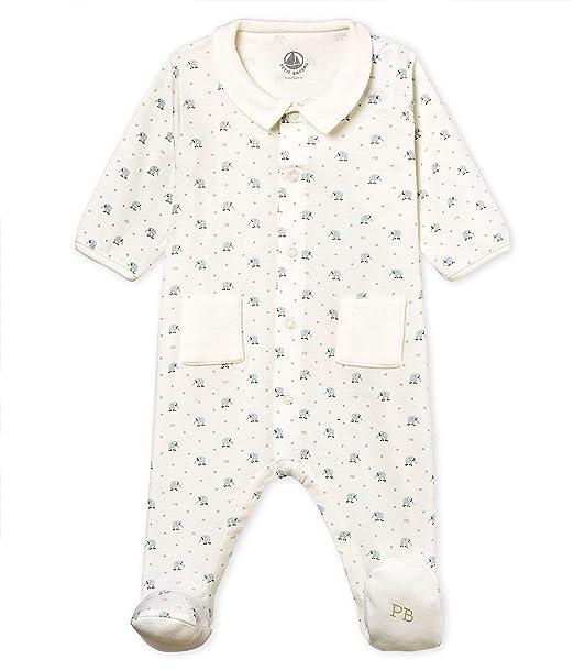 Petit Bateau Baby-Jungen Boluse Schlafstrampler