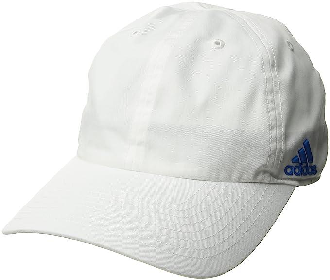 Amazon.com  adidas Women s Halo Cap White Shock Blue One Size ... ec59f7328