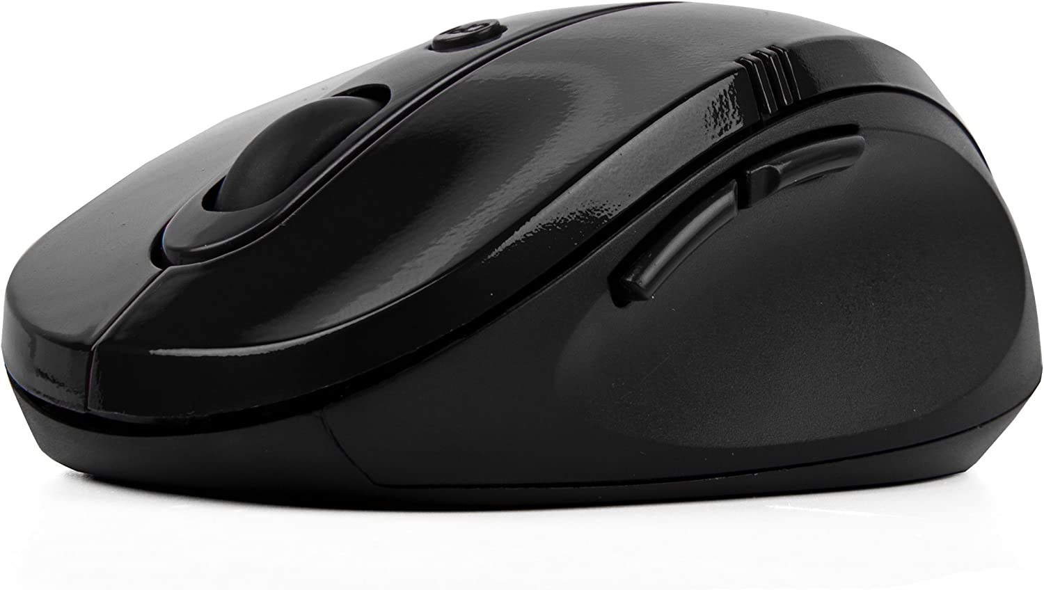 Black Gloss Wireless Mouse Accessory for Toshiba Laptop/Computer/Satellite