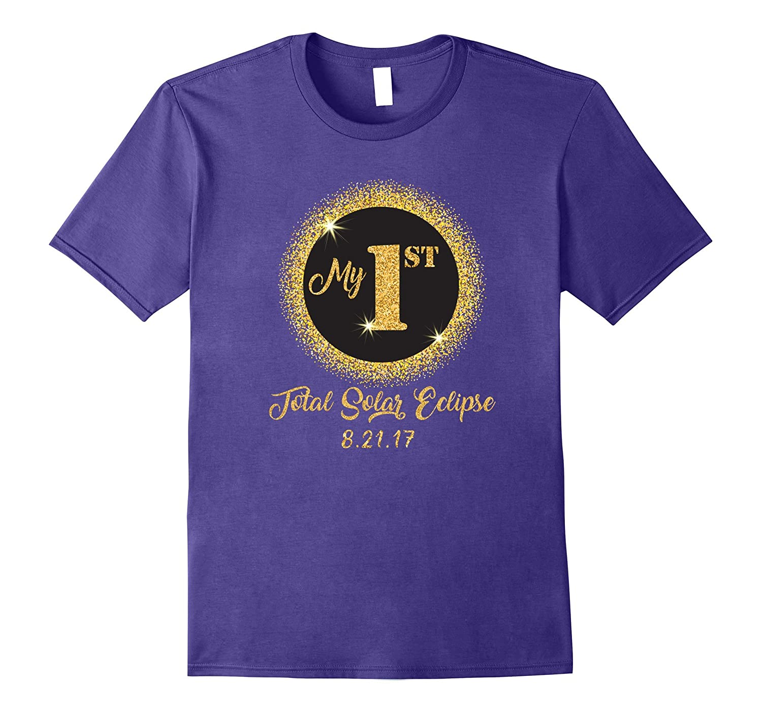Total Solar Eclipse Shirt for Kids My 1st First Womens Mens-Art