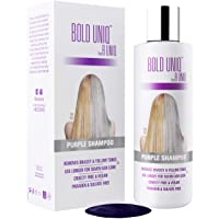 Purple Shampoo for Blonde Hair: Blonde Shampoo Eliminates Brassy Yellow Tones- Lightens...