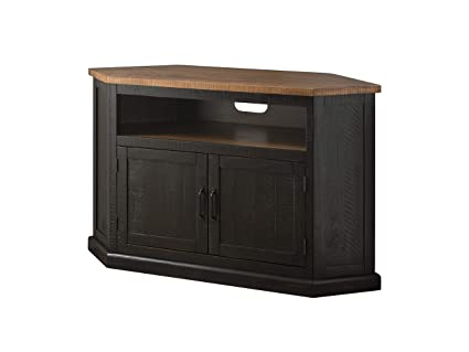 31015818970a Image Unavailable. Image not available for. Color: Martin Svensson Home  90975 Rustic Corner TV Stand ...