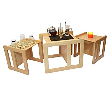 Obique 3 in 1 adults multifunctional nest coffee tables set of 3 obique 3 in 1 adults multifunctional nest coffee tables set of 3 childrens multifunctional furniture set watchthetrailerfo