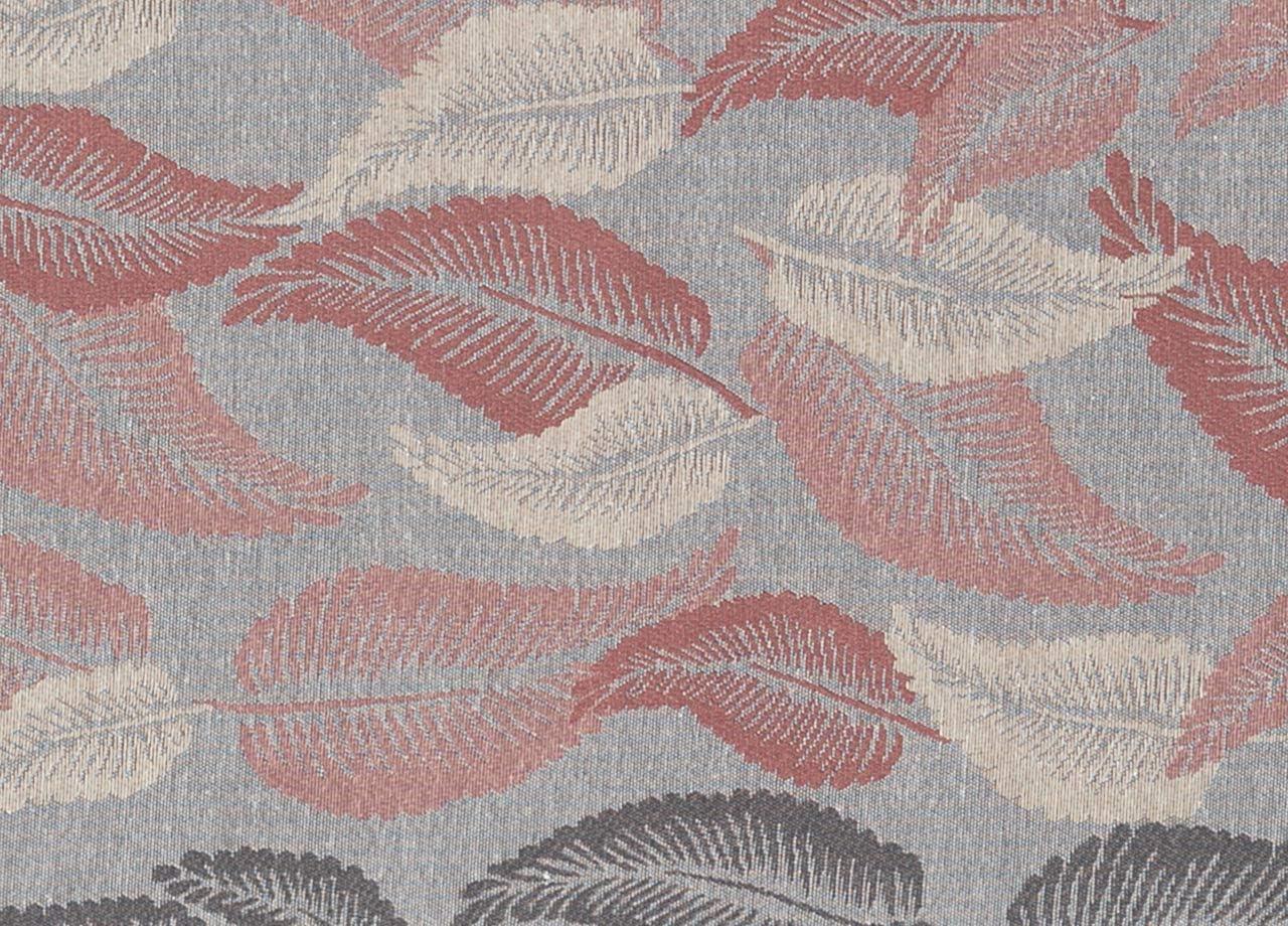 BIANCHERIAWEB Tappeto Passatoia in Tessuto Jacquard Linea Emozioni Disegno Liberty Rosa 57x50 Rosa