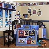 GEENNY Boutique 13 Piece Crib Bedding Set, Boy Sailor