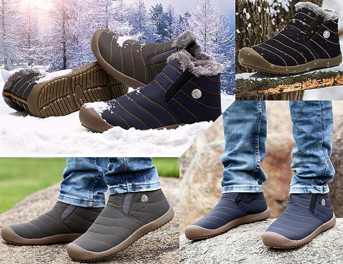 Gracosy Hombres Senderismo Zapatos Escalada Deportes al Aire Libre Senderismo Zapatillas Caminar Impermeable Zapatos de monta/ña Correr Zapatos Deportes Al Aire Libre Hombre Escalada Zapatos