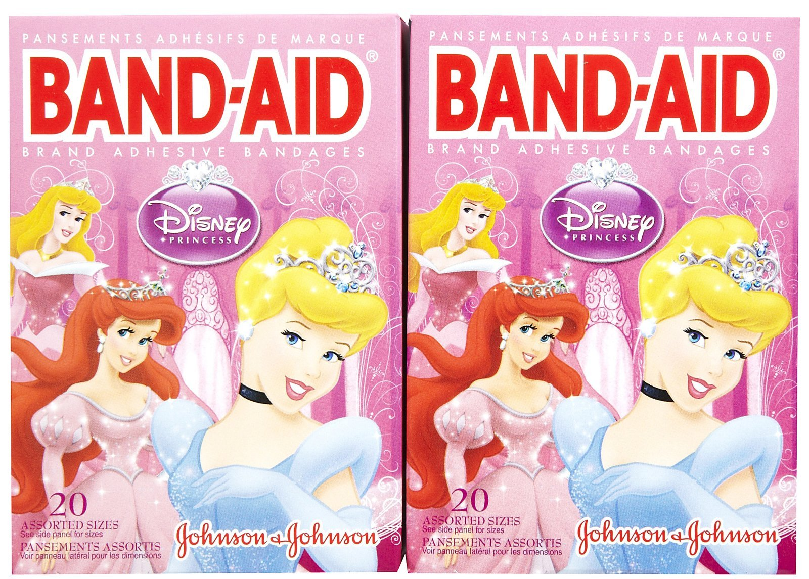 Band-Aid Bandages - Princess - 20 ct - 2 pk