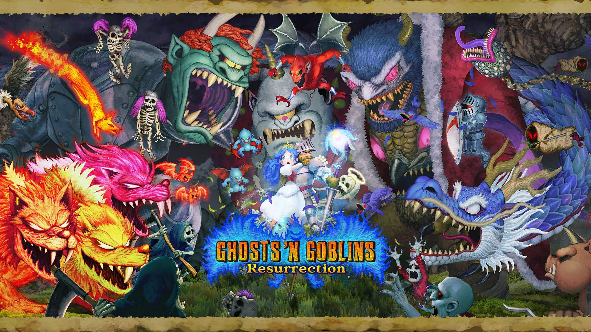Poster. Ghosts n' Goblins Resurrection