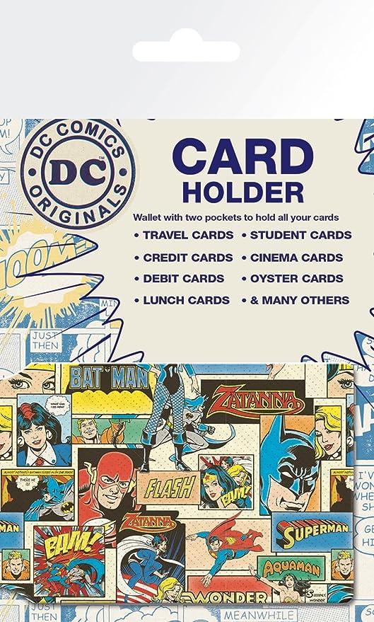 DC Comics Retro Card Holder