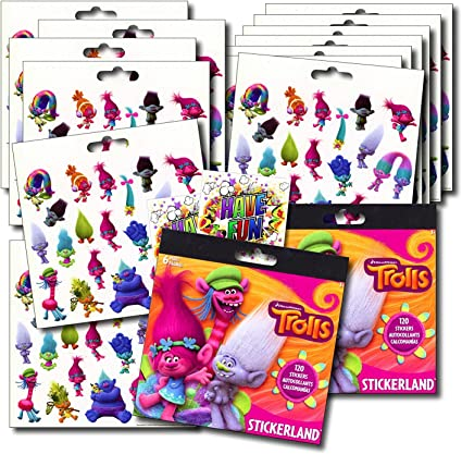 12 Sheets Chiledrens Kids Stickers Lot Toy Stickers Reward Party Gift Birthday @