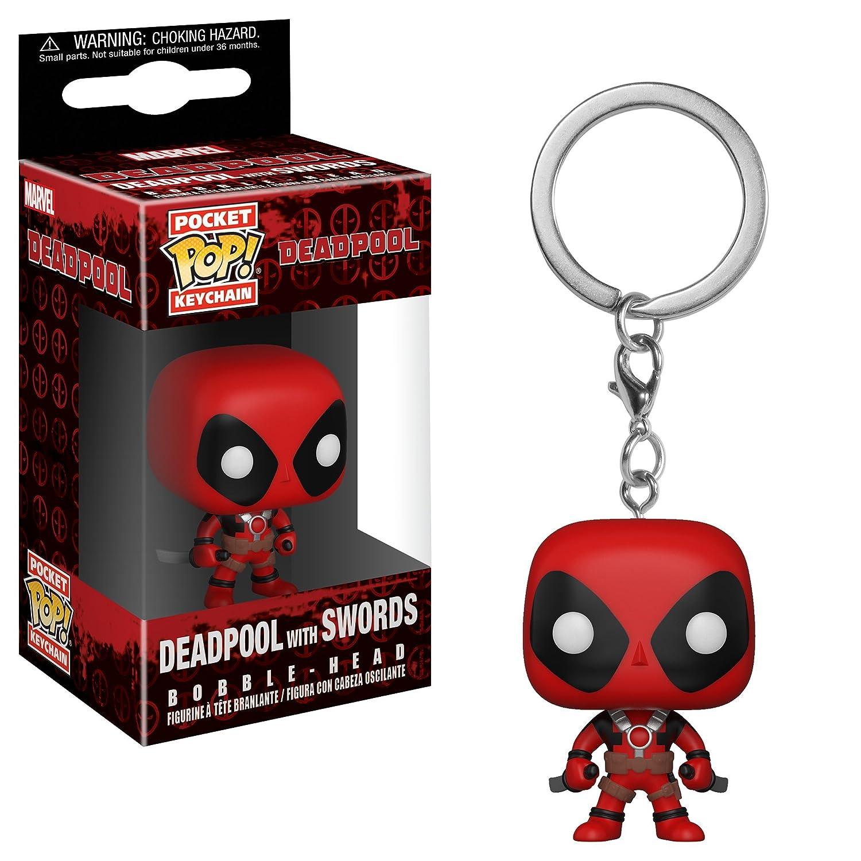 Funko- Keychain Marvel Llavero con Anilla Deadpool, (31735)