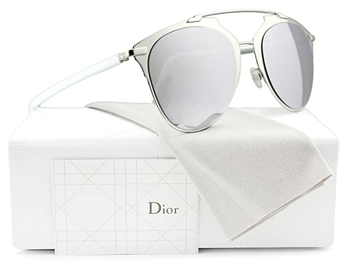 edfd2f965c7e Image Unavailable. Image not available for. Colour  Christian Dior Reflected S  Sunglasses Palladium White w Silver ...