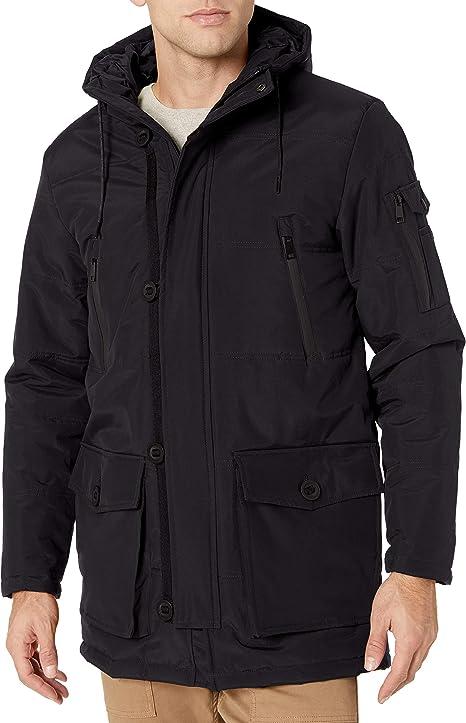 Amazon.com: Cole Haan Abrigo de plumón sintético Oxford para ...