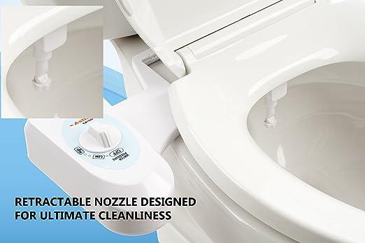 Astor Bidet Fresh Water Spray Non Electric Mechanical Bidet Toilet Seat  Attachment CB 1000     Amazon com. Astor Bidet Fresh Water Spray Non Electric Mechanical Bidet Toilet