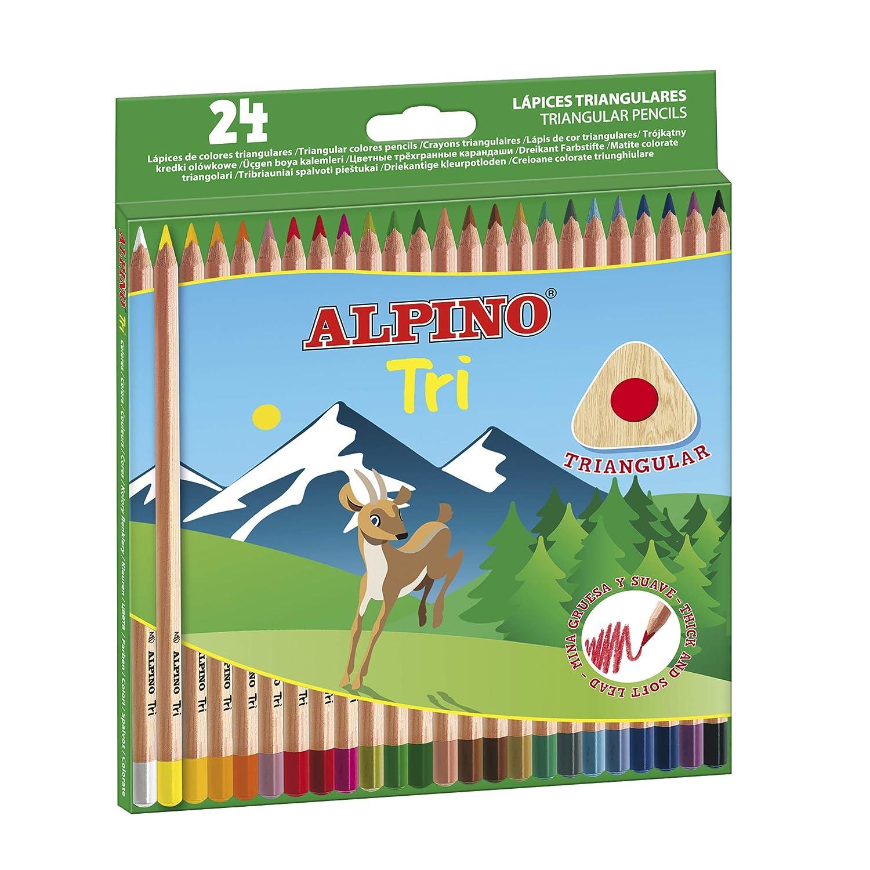 Alpino 129 - Pack de 24 lápices, multicolor