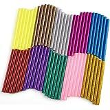 WXJ13 10 Color Hot Glue Gun Sticks 7 mm by 10 cm Hot Melt Glue Sticks Mini for DIY Art Craft