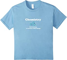 Chemistry: If it was easy it would be called biology