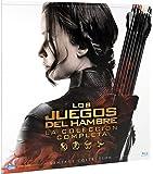 Pack Saga Los Juegos Del Hambre Colección Vintage (Funda Vinilo) [Blu-ray]