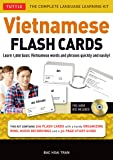 Vietnamese Flash Cards: Learn 1,000 Basic Vietnamese Words and Phrases Quickly and Easily