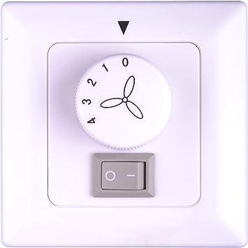 Pepeo interruptor de pared para ventilador de techo con luz ...